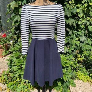 KATE SPADE Blue Selma Nautical Dress, 4/Small